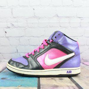 NIKE Air Ladies Swoosh Basketball Shoes Size 8